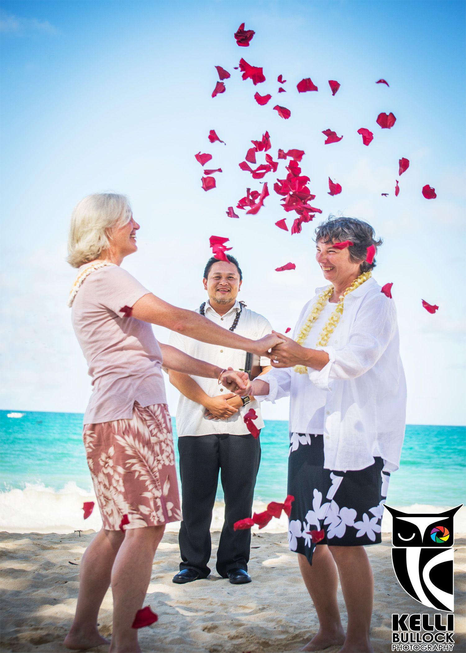 Speaking, hawaii lesbian wedding think, that