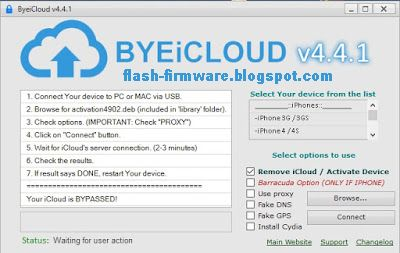 Byeicloud v4 4 1 Tools Full Latest Free Download   iPhone cloud in