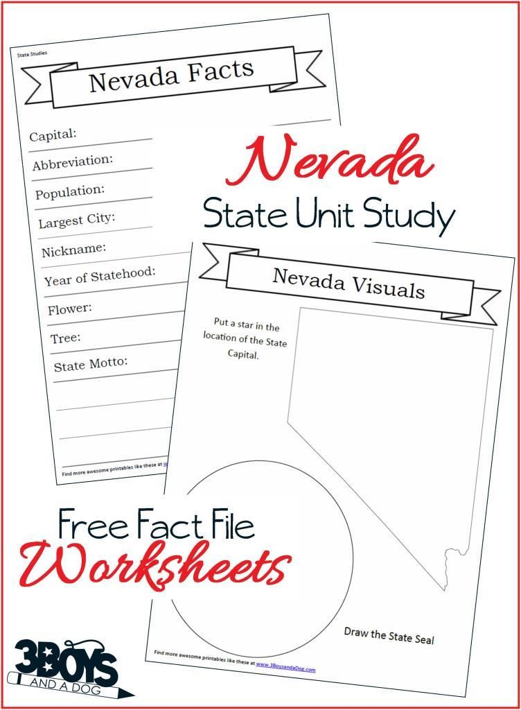 Nevada State Fact File Worksheets Delaware Facts Delaware State
