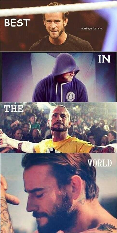 CM PUNK - The most accurate catch phrase or whatever they are called ever! <3