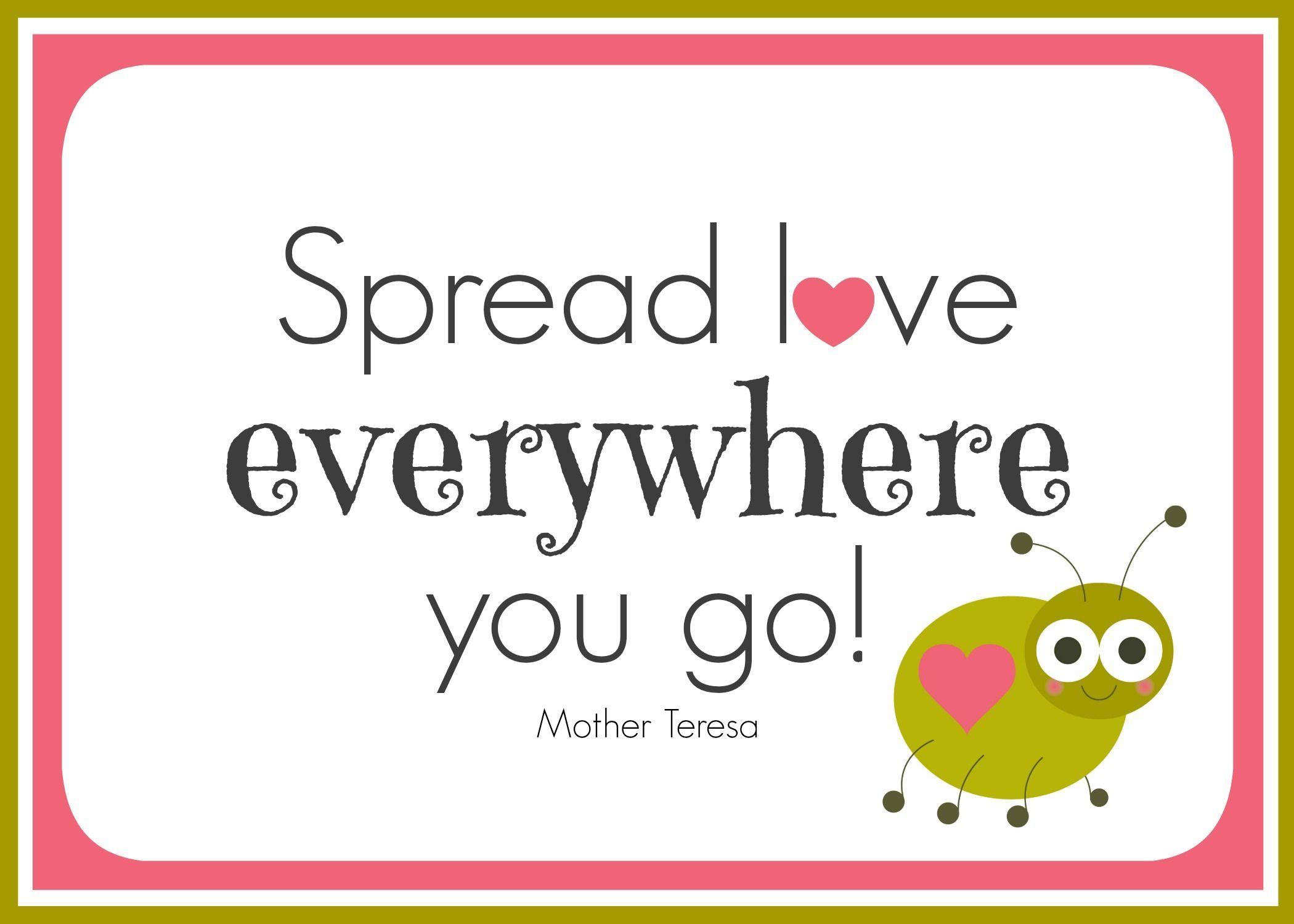 Family Night Idea - Love is Contagious! (she: Veronica) | Spread ...