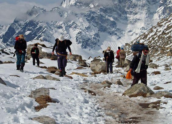 Himalaya trekking: