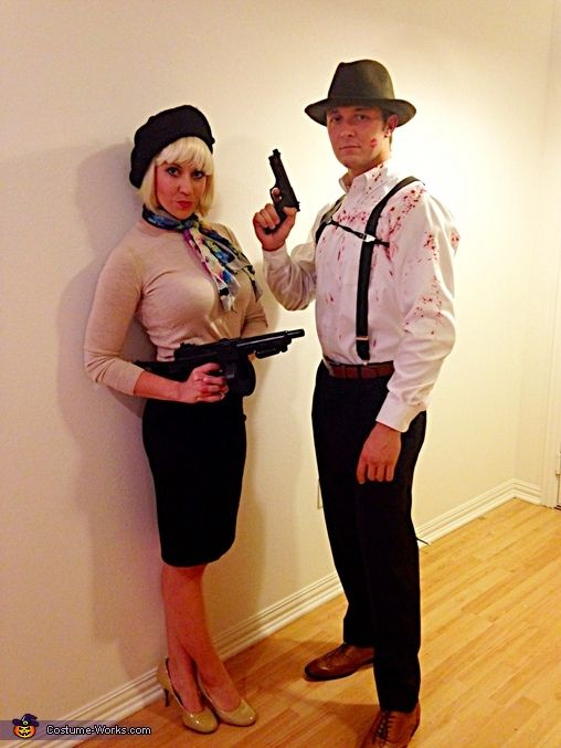 Bonnie Clyde Costume Contest At Works