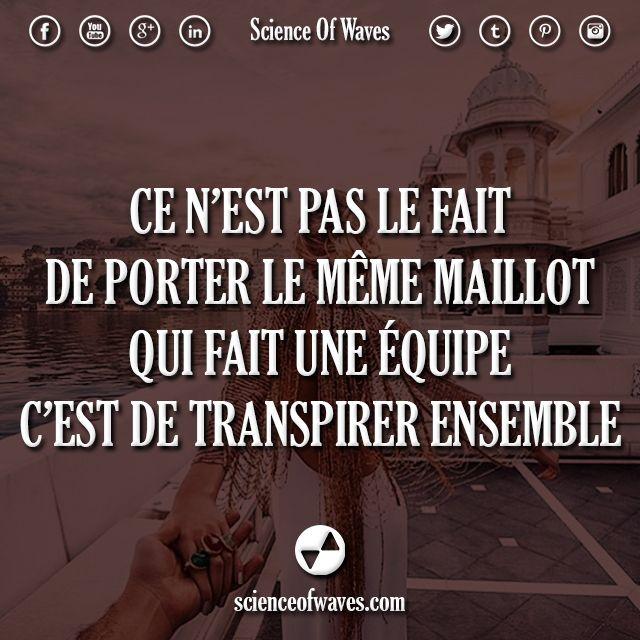 Ce N Est Pas Le Fait De Porter Le Meme Maillot Qui Fait Une Equipe