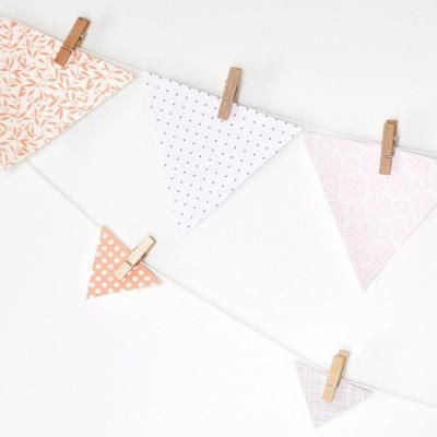 Easy Pennant Bunting  ~party decoration~ you can customize this in SO many different ways!