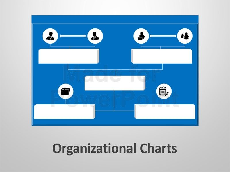 Editable Powerpoint Slides On Organizational Charts  Cary