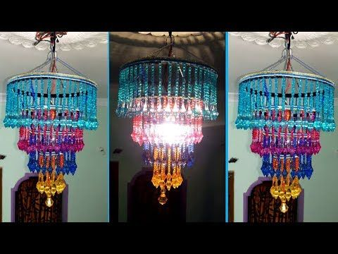 How to make jhumarchandelier wall hanging decoration beaded how to make jhumarchandelier wall hanging decoration beaded chandelier home decorating aloadofball Choice Image