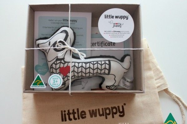 The little wuppy® is a sausage dog worry puppy designed as an aid to help ease children's (or parents) worries and to comfort them. Great for siblings too.