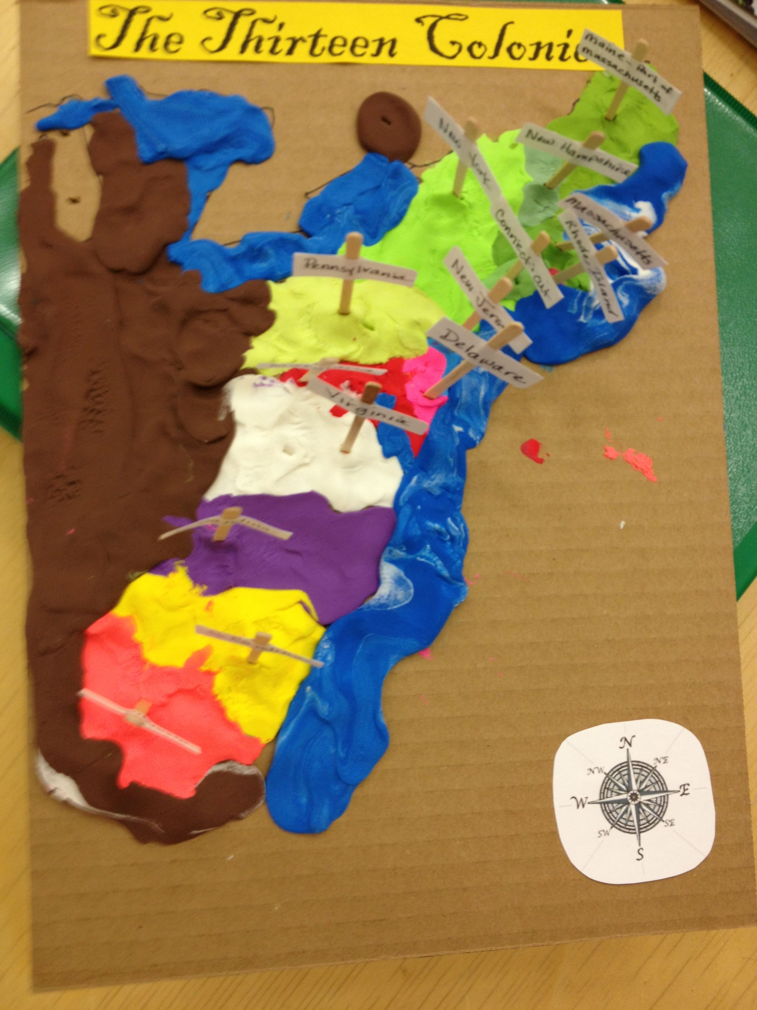 Great 13 Colonies Learning Project