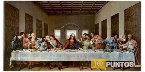 Leonardo Da Vinci Fotos De Sus Obras Buscar Con Google La Ultima Cena Cuadro De La última Cena Pintura Cristiana