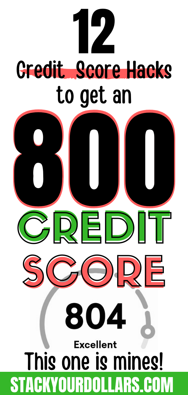 Do you know how to improve your credit score quickly? Here are the best tips and tricks for you to raise your credit score. Whether you are new to credit and don't know how to build your credit score, or you have had some credit mishaps and need steps to improve it, this post will help you! Get all the hacks I used to build an 800 credit score and marvel at your new and improved credit report! #creditscore #buildcredit #raisecredit #improvecredit #stackyourdollars #credittips #credithacks