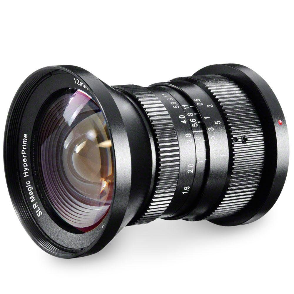 Slr Magic Hyperprime 12mm F 1 6 Lens For Micro Four Amazon Co Uk Camera Photo Lens Camera Lenses
