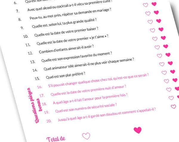 Evjf Le Jeu Du Couple Parfait Myplanner Le Blog Evjf Vie De Jeunes Jeu Evjf