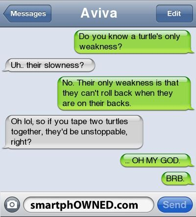 Unstoppable. Lmfo!
