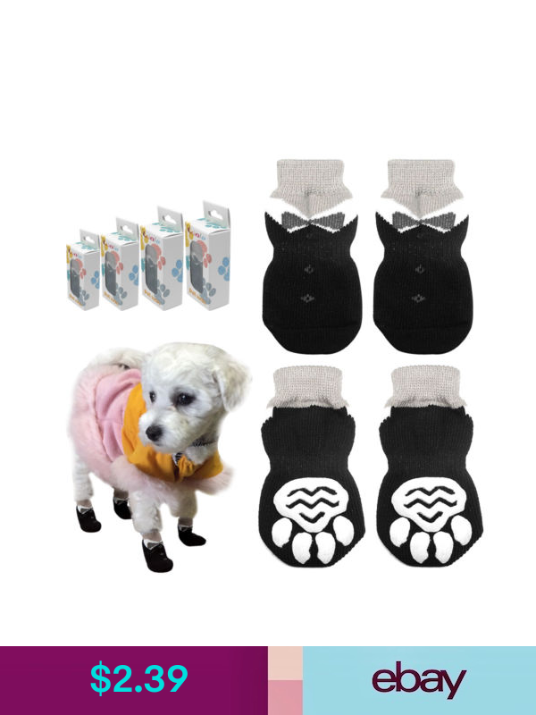 Pet Puppy Dog Shoes Anti Slip Socks Small Dogs Sock Cat Shoes Chihuahua Boots