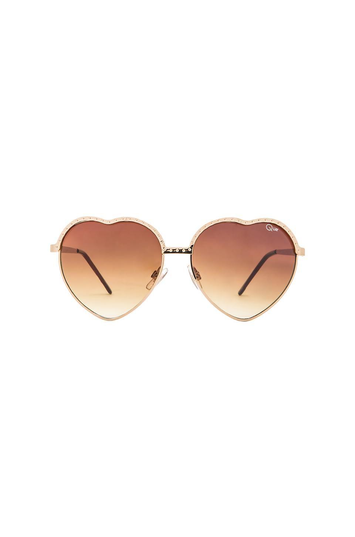 92d8e904ac QUAY Australia Heart-shaped Sunglasses - cute yet grown up alternative to  the average boring sunnies.