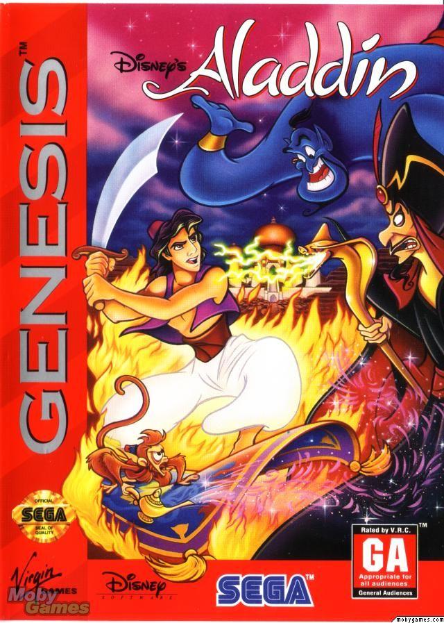 Disney S Aladdin Sega Genesis Juegos De Sega Genesis Pinterest