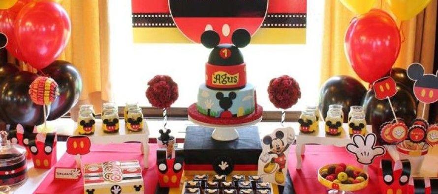 ideas para fiesta cumpleaos de mickey mouse