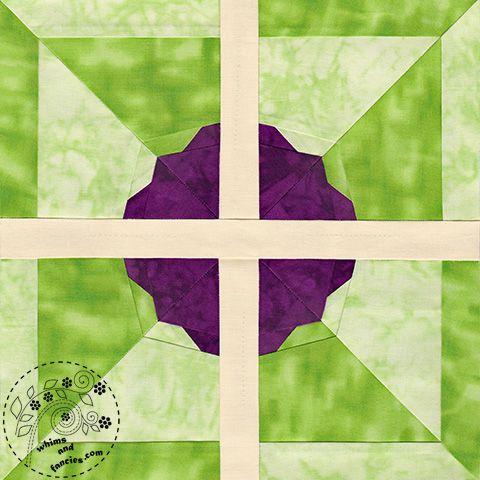 A Flower For Jane Austen Pride And Prejudice Quilt Pattern