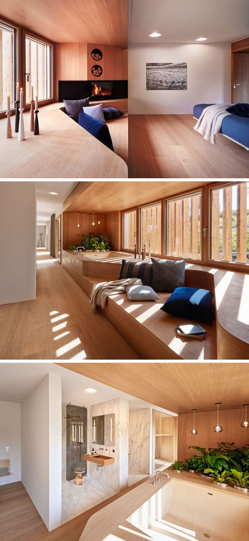 Alfredo Häberli Design Development have recently completed a house designed to showcase Baufritz's expertise in wood home construction.