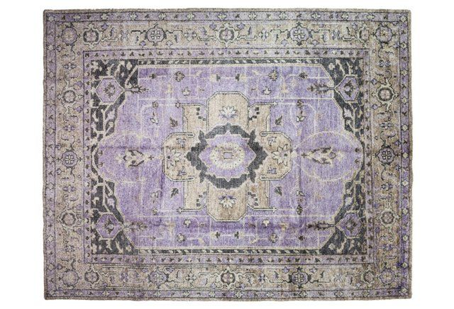"312 23rd St Houston Tx 77008 Photo Charming 1920s: 8'6""x10'7"" Gabbeh Oriental Rug, Purple"