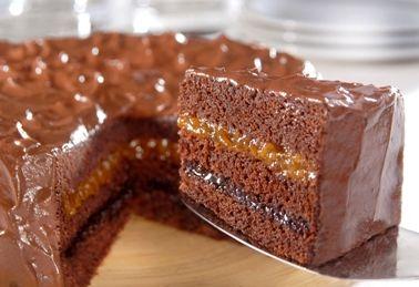Bolo De Chocolate Receitas Fleischmann Bolo De Chocolate