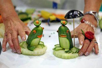 Поделки из овощей и фруктов фото инструкция