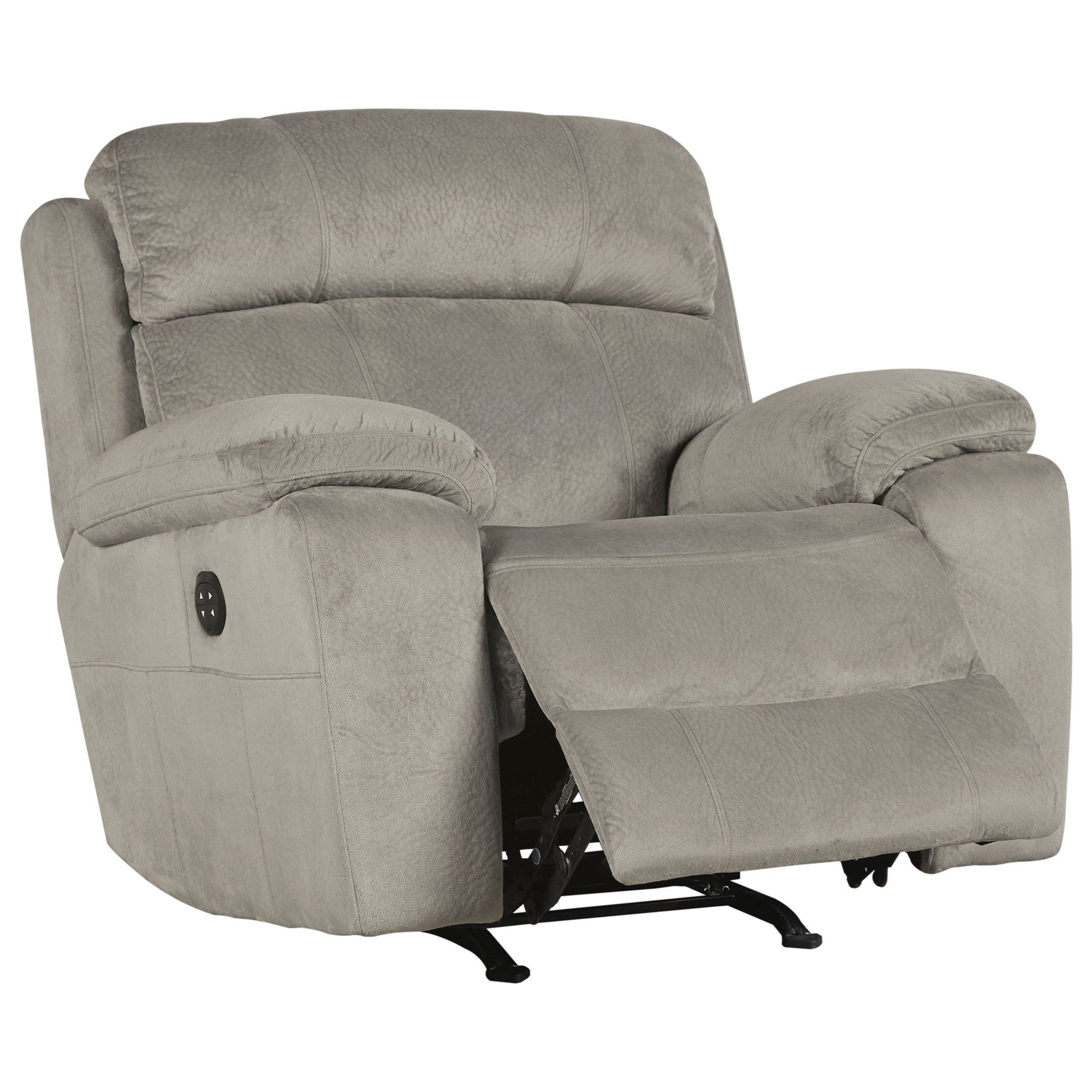 Uhland Power Recliner with Adjustable Headrest by