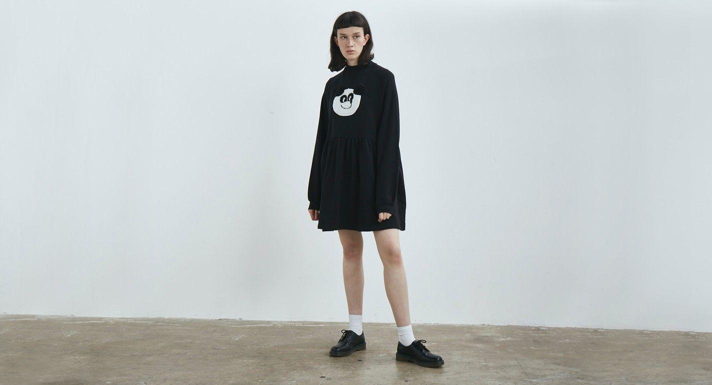 ef3890683f7 Lazy Oaf Panda Sweater Dress - Everything - Categories - Womens ...