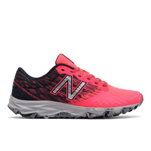 New Balance 690v2 Trail Women's Trail Running Shoes - Pink/Grey/Red  (WT690LG2