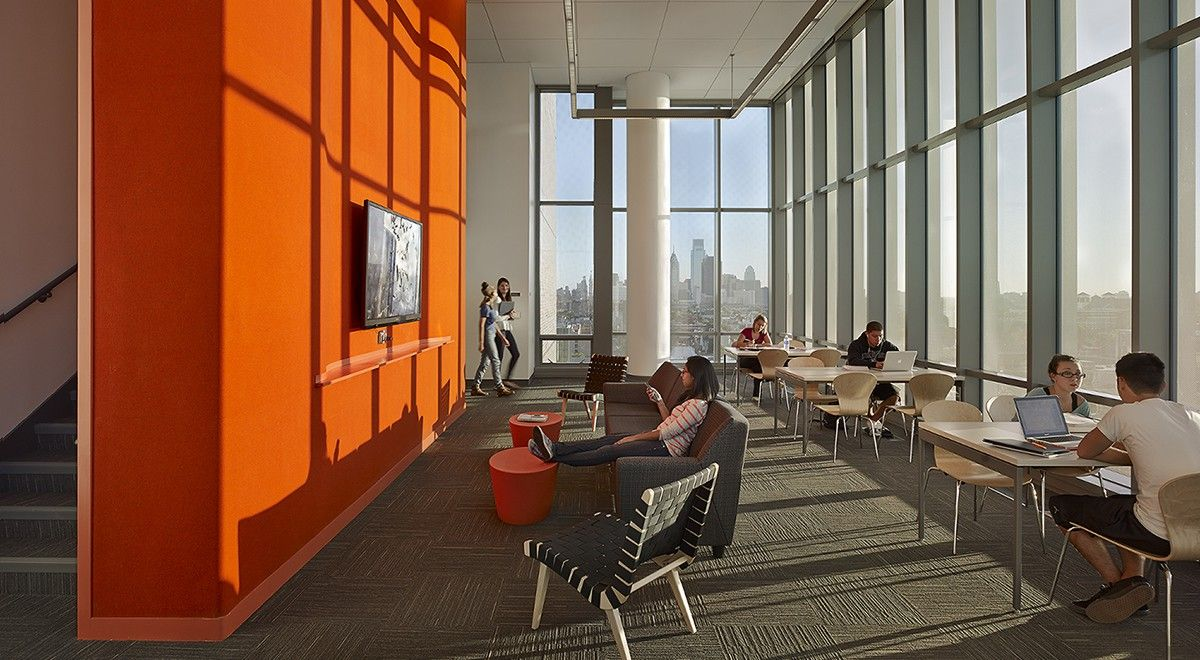 5mm Design Felt In 105 Rost At Temple University Morgan Hall By