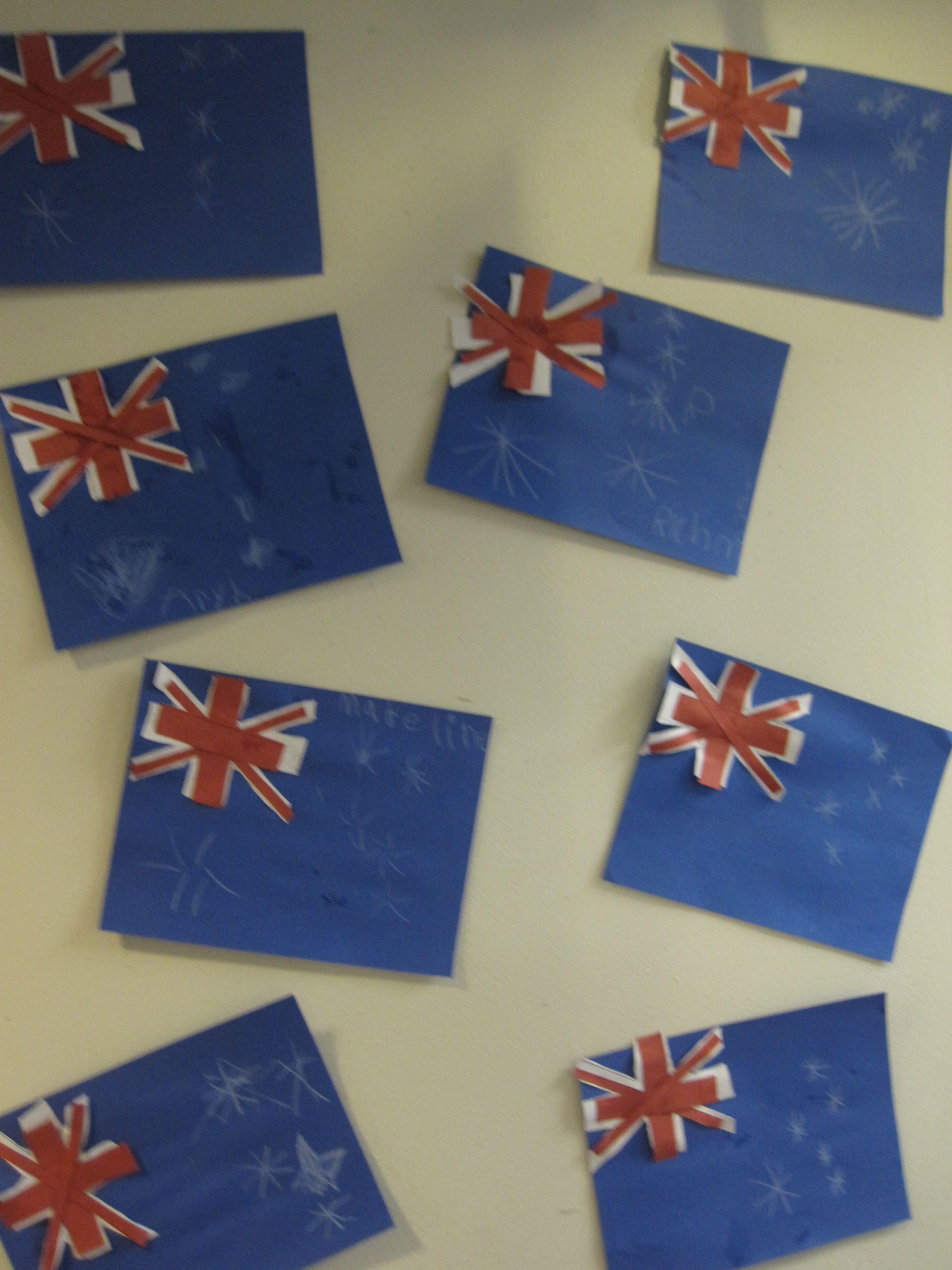 Australia Flag Craft