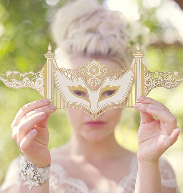 Printable Pretty Fox Mask
