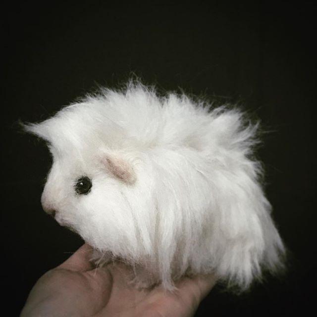 Cute Needle felted wool cavy