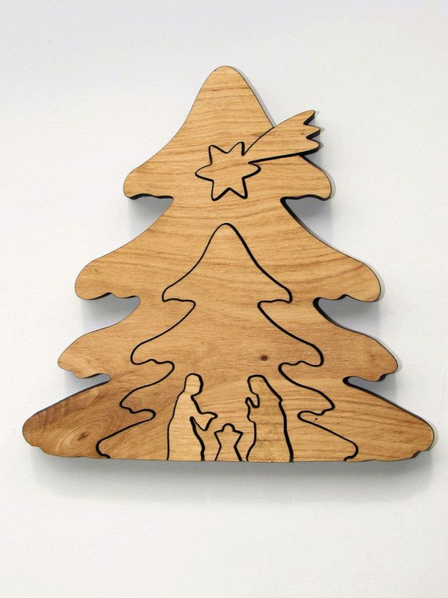 Holz Weihnachtskrippe Krippe Kontur Baumform Etsy Weihnachten Holz Weihnachtsholz Weihnachtskrippe Holz