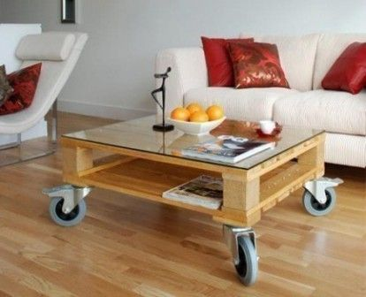 Mesa de luz con palets buscar con google muebles - Mesa de palets ...