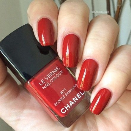Herbstrot – CHANEL ÉCORCE SANGUINE 671 Collection Les Automnales
