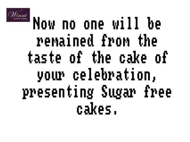 sugar free by kirti94967 via authorSTREAM Sugar free Cake delivery