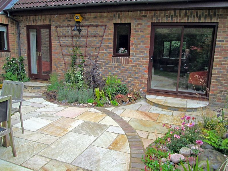 Garden patio ideas small gardens