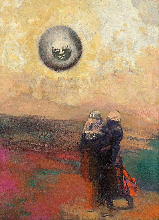 Rimbaud Poesies Une Saison En Enfer Illuminations A La Lumiere De La Peinture Moderne Au Tournant Du Xxe Siecle Editi Odilon Redon Impressionisme Schilderij
