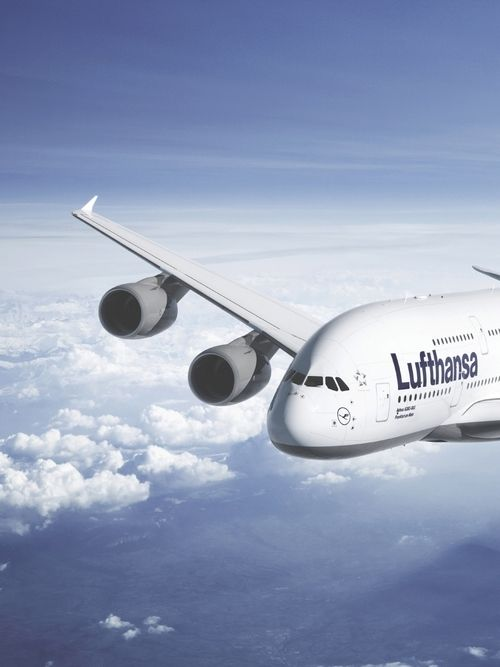 Lufthansa A380 Commercial Aviation