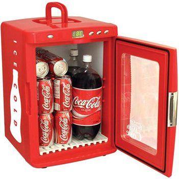 mini fridge | coca-cola® - it's all about happiness | pinterest