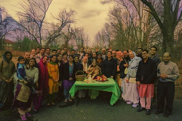The Paduka of Sri Nityananda reach New Jersey (Album with photos) We were honored to welcome the Paduka of Sri Nityananda Prabhu and the Sitari of Lord Nrsimhadeva to our new property in Parsippany where their Lordships blessed the land so we can embark on our goal of building a brand new temple for Sri Sri Gaura Nitai…. See them here: http://goo.gl/phiYzG