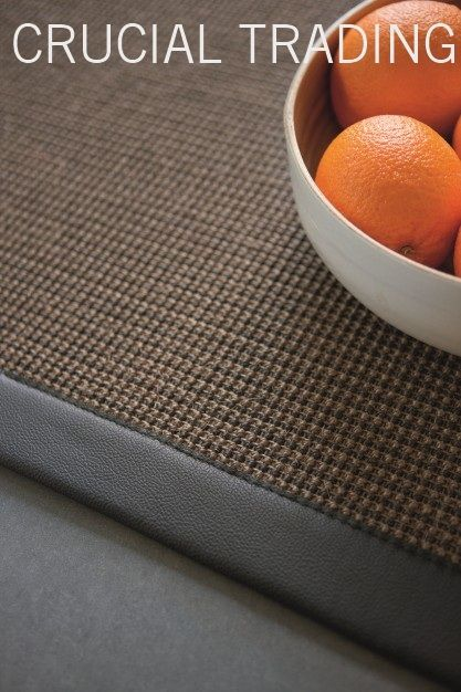Sahara Sisal With Leather Border Rug Ideas Crucial Trading Will Create Rugs To Order From Their Carpet Ranges