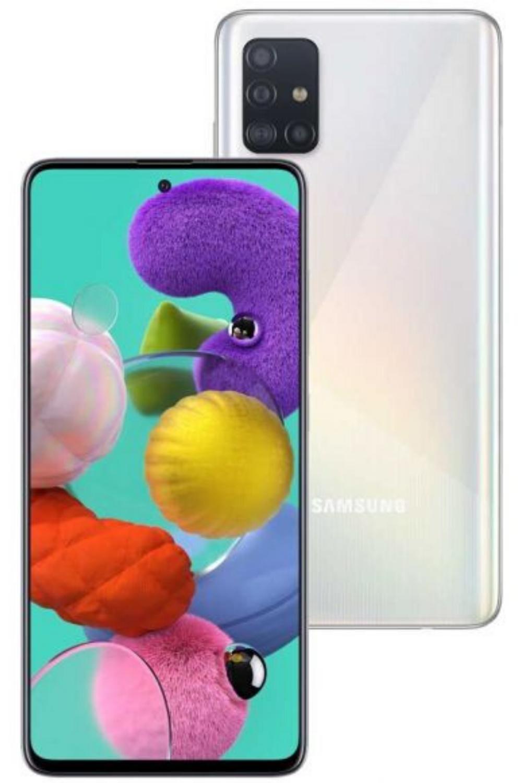 Smartphone Samsung Galaxy A51 Branco In 2020 Smartphone Samsung Galaxy Samsung Phone Cases