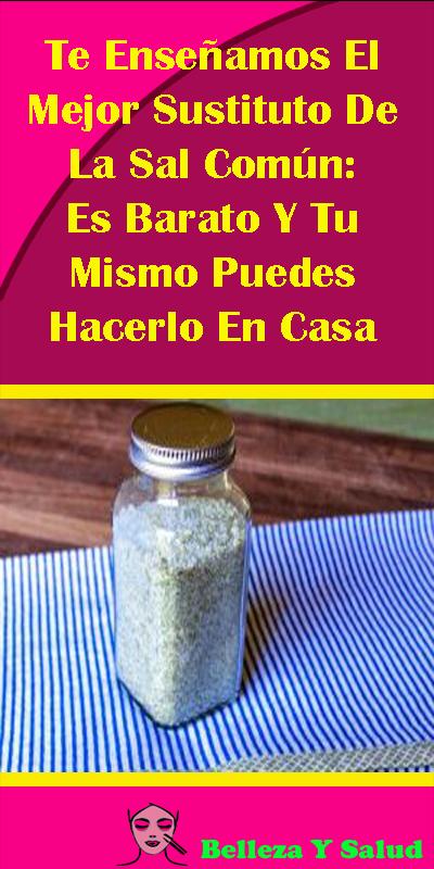 Te ense amos el mejor sustituto de la sal com n es barato for Apartamentos baratos en sevilla por dias