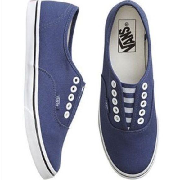 vans lo pro womens blue