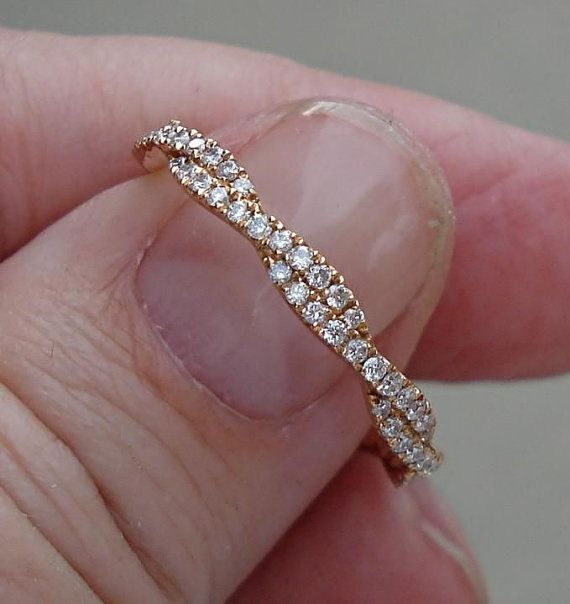 Eva is 18K and carefully crafted with 88 pave set diamonds weighing