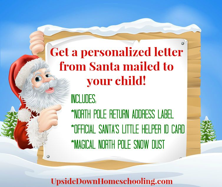 Personalized Letter From Santa Along With The Each