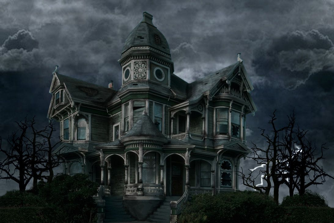 Another fabulous homeI know most find these really eery, but I - halloween houses decorated